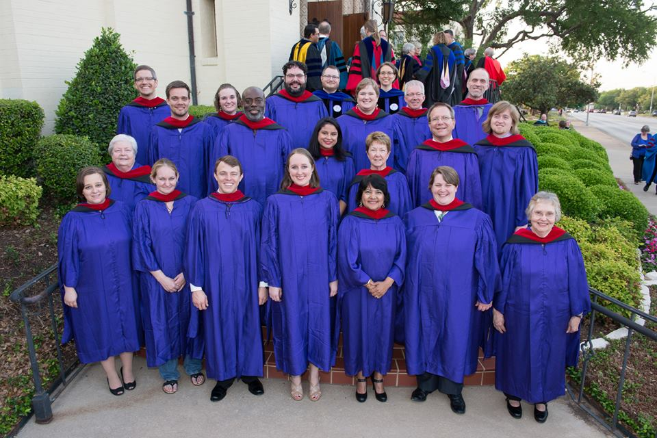 Brite Divinity School's May 2014 Graduating Class